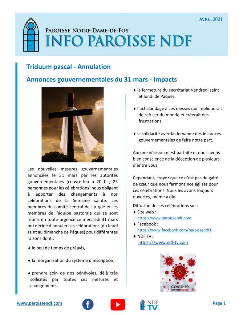 NDF INFO édition de décembre